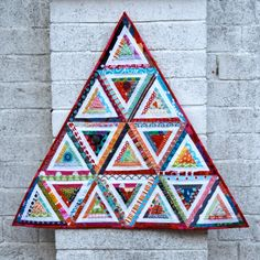 """Until I made my first scrappy quilt last year, I really didn't """"get""""scrappy. To me it looked messy and I couldn't see what all the fuss was..."""