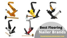 Recommended Best Flooring Nailer Brands for 2020 Flooring Tools, Best Flooring, Coil Nailer, Roofing Nailer, Electric Power Tools, Finish Nailer, Good Brands, Porter Cable, Decks