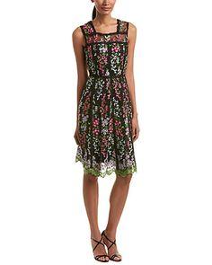 Rue La La — Parker Black A-Line Dress