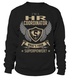 Hr Coordinator Superpower Job Title T-Shirt #HrCoordinator