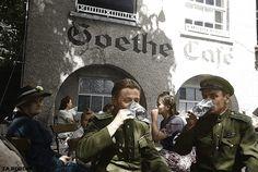 Soviet soldiers in Vienna May 1945 ww2
