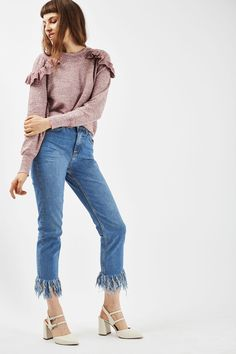 4fcb78b0f5a1 Carousel Image 1 Petite Cropped Jeans
