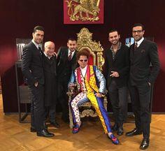 Dolce & Gabbana cria terno com estampa do Romero Britto