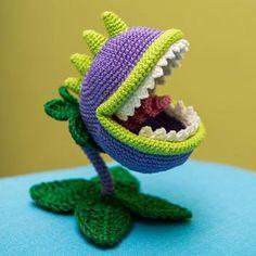 Chomper (Plants vs. Zombies) amigurumi pattern by AradiyaToys
