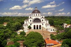Basilica de Caacupe, Paraguay.  It's how my mom and dad got together.