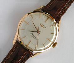 Mint Vintage Longines Flagship Solid Gold #Longines #Watches #Menswear #Vintage #Gold #Flagship #Automatic - omegaforums.net