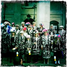 A great East End tradition - the pearly kings and queens
