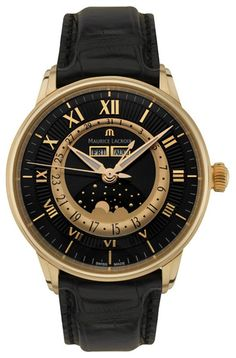 Maurice Lacroix Mens Master Piece Watch. List price: $19500