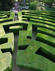Villa Pisani Maze Garden, Stra, Veneto, Italy