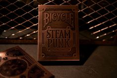 Bicycle Steampunk Playing Cards by Alex Beltechi Steampunk Bicycle, Steampunk Cards, Victorian Steampunk, Police Logo, Art Design, Graphic Design, Design Styles, Design Concepts, Bicycle Playing Cards