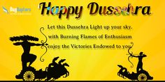 May All the #Tensions in your #Life Burn Along with the #Effigy of Ravan! May you be #Successful and #Happy Ever! #BugRaptors Wishing you a Very #Happy #Dusshera!!