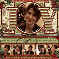 Love this Christmas page!!! Seriously