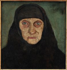 Paula Modersohn-Becker - Head of Old Woman