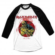 Tricou maneca lunga Iron Maiden: Piece of Mind