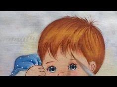 Como pintar o nariz e boca em fralda - YouTube