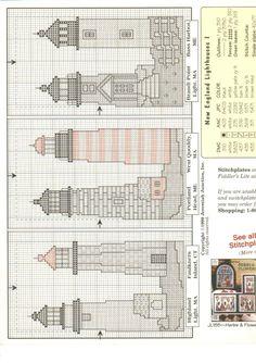 Schema punto croce Lighthouse 02
