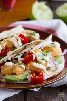 Crispy Shrimp Taco Recipe - Taste and Tell