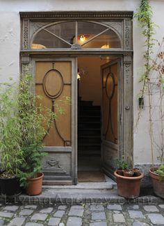 Paris residential entry doors
