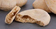 Aprende a preparar esta receta de Pan integral de pita, por Anna Olson en elgourmet
