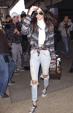Kendall Jenner airport style