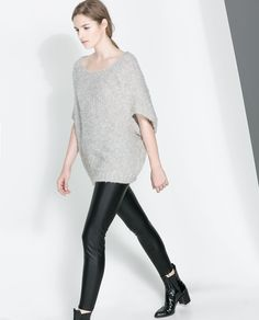 Image 2 of MOHAIR OVERSIZE SWEATER from Zara