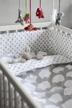 Sheep Theme Crib Bedding