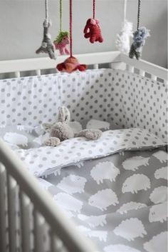 Sheep Theme Crib Bedding