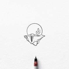 Tattoo Sketches, Tattoo Drawings, Drawing Sketches, Ink Illustrations, Illustration Art, Circle Drawing, Geometric Nature, Nature Drawing, Doodle Designs