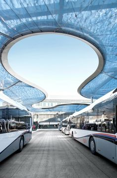 BUS TERMINAL AND TRAIN STATION SQUARE BY VEHOVAR & JAUSLIN
