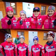 Great start on the new ski jumping season. 1st and divided 2nd place for my favorite teams in the first team competition.