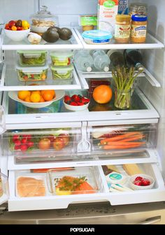 The 10 healthy foods every fridge should have if you want to lose weight. Buy these the next time you head to the store!