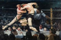 Stag en el Sharkey's - George Bellows