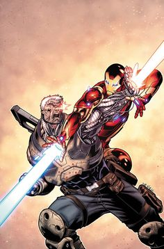 Iron Man vs Cable