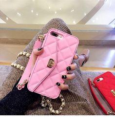 iPhone 8 plus soft silicone purse case Luxury Purses, Luxury Handbags, Fashion Handbags, Iphone Wallet Case, Iphone 8 Cases, Iphone 7, Cheap Purses, Cute Purses, Iphone 8 Plus