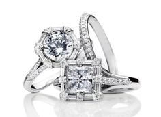 Which would you choose?? #tacori #engagement #rings #lucido #jewelry