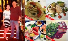 Couple document their meals in over 100 Michelin-stared restaurants