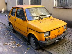 Fiat Maluch - we used to have this car...so cute