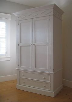 The Gabrielle Armoire is the perfect heirloom quality furniture piece for your child's room