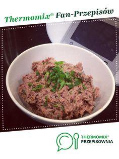 Pasta z czerwonej fasoli z suszonymi pomidorami jest to przepis stworzony przez użytkownika Dziewczyna Informatyka. Ten przepis na Thermomix<sup>®</sup> znajdziesz w kategorii Sosy/Dipy/Pasty na www.przepisownia.pl, społeczności Thermomix<sup>®</sup>. Grains, Food And Drink, Pasta, Beef, Thermomix, Meat, Seeds, Korn, Steak