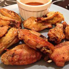 Oven Baked Seasoned Chicken Wings