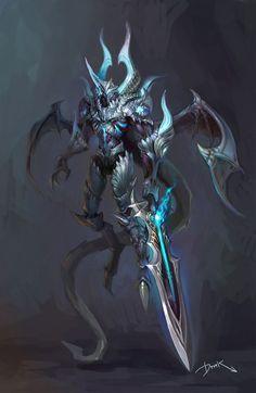 艺术界CG大资源库采集到┋写实角色设计┋怪物(106图)_花瓣