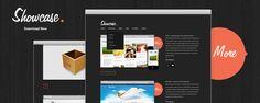 Awesome Minimal free PSD web design