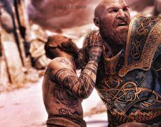 Baldur The Stranger Kratos God Of War, God Tattoos, Norse Tattoo, Fantasy Comics, Ice Age, Thor, Videogames, Sci Fi, Wallpaper