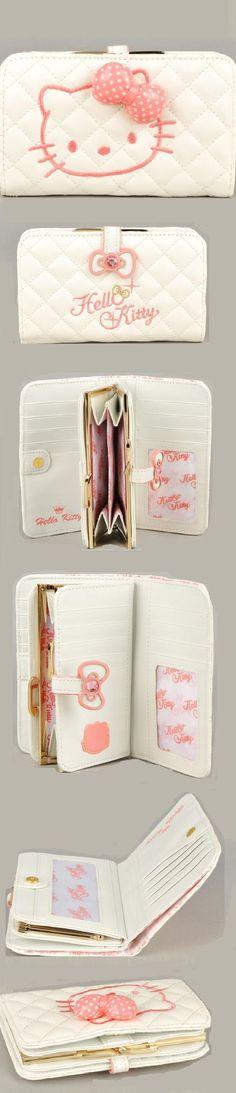 Hello Kitty Bifold Wallet $34