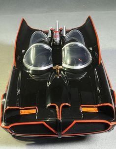 1966 Batmobile action figure car by Mattel Batman Batmobile, Batman 1966, Batman Robin, Original Batmobile, Batman Tv Show, Batman Tv Series, Batman Costumes, Pinturas Disney, Derby Cars