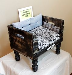 Luxury Dog Beds - Vintage infused