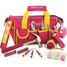 32pc Pink Tool Bag 21043