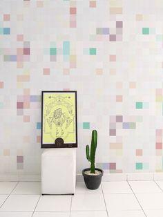 Papel de Parede Adesivo Pixel Brilho | Collector55 - Collector55