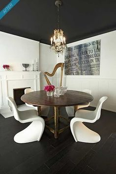This dining room is sweet!