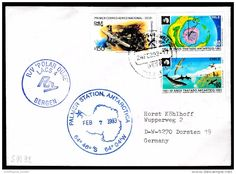 "ANTARCTIC, U.S.A., Expedition 1993,R/V""POLAR DUKE"", 2 Cachets Visit PALMER-Station !! Look Scan II 1.3-86 - Spedizioni Antartiche"
